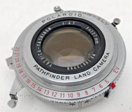 Polaroid pathfinder Land camera 127mm Yashica Yashinon Lens
